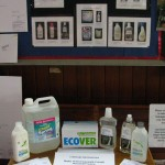 Display of ECO-friendly household products