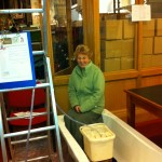 Sue recycling bathwater