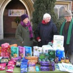 Fairtrade Stall outside the URC