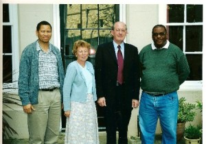 Ronnie and Lebohang meet the Dean of Windsor