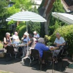 Wednesday Open Door coffee morning outside the URC